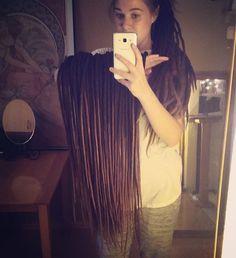Huge set of dark, brown dreadlocks. Custom order from Etsy ;) #dreadlockstyle #dreadlockextensions #dreads #dread #dreadlocks #dreadhead #woolies #wooldreadlocks #wool #handmade #naturaldreads #dreadgirl #handmadedreads #etsyshop #etsy #browndreads #longdreadlocks #girldreads