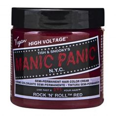 Manic Panic Classic Cream Hair Dye, Rock N Roll Red at I Kick Shins