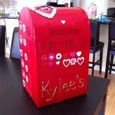 Stempeleinmaleins Briefkasten  Mail Box  Valentines Ideas