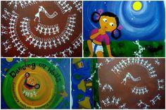 "Indian folkart for kids: ""Warli"""