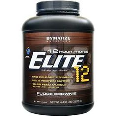 DYMATIZE NUTRITION Extended Release Elite XT Protein Fudge Brownie 4.4 lbs