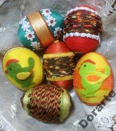 Pisanki Wielkanocne Hand made - Rękodzieło! Easter Eggs, Handmade, Food, Hand Made, Essen, Meals, Yemek, Eten, Handarbeit