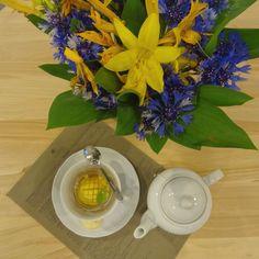 mango tea serving suggestion