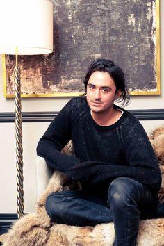 Ryan Korban, designer mixing luxury & other styles
