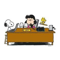 Snoopy and Lucy