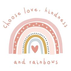 Love, kindness and rainbows quote wall sticker, quote wall decal Rainbow Quote, Rainbow Wall, Wall Stickers Quotes, Wall Quotes, Wall Sticker Design, Wall Decals, Cute Backgrounds, Cute Wallpapers, Iphone Background Wallpaper