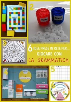 6 idee prese in rete per... giocare con la grammatica Social Service Jobs, Italian Lessons, Learning Time, Teacher Tools, Learning Disabilities, Teaching Materials, Interactive Notebooks, Teaching Reading, Jouer