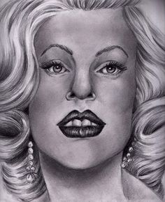 "Looks more like Tori Spelling than Marilyn. ""Those Stars That Were Your Eyes"" by ~TheEleventhsHour on deviantART"