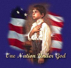 The Pledge of Allegiance  BY Red Skelton: https://www.youtube.com/watch?v=2HGHdFmu5GU