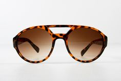 Oak   a.ok chunky aviator sunglasses tortoise shell Oak
