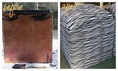 Sew Caroline: a fun DIY: storage boxes--storage ottomans Diy Storage Ottoman, Ottoman Decor, Diy Storage Boxes, Diy Ottoman, Storage Ideas, Diy Projects To Try, Crafts To Make, Diy Crafts, Easy Diy