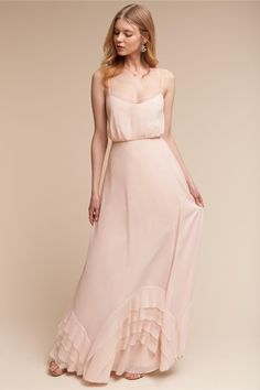 BHLDN Ice Pink Dove Dress in Bridal Party | BHLDN