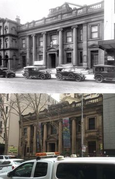 The Congregational Church, Pitt Street, Sydney in 1927 > 2016. [City of Sydney Archives > Phil Harvey. By Phil Harvey]