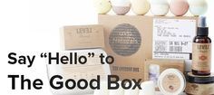 LEVEL Naturals monthly subscription box (3 levels for every budget)