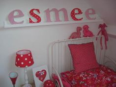 #Kinderkamer met roze en rode accentkleuren | Pink and red #kidsroom