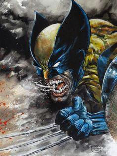 Wolverine by Jean-Louis Sanglan *