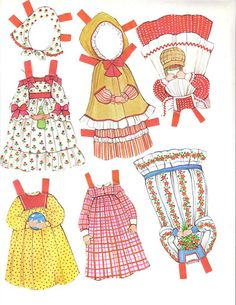 The Ginghams-Whitman 1985 Paper Dolls.This From S Futcher - MaryAnn - Picasa Web Albums