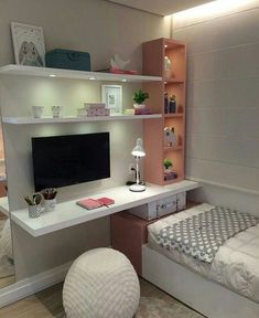 Cute Bedroom Ideas Girls That Will Make a Beautiful Dream - bedroom decorat.- Cute Bedroom Ideas Girls That Will Make a Beautiful Dream – bedroom decoration – - Cute Bedroom Ideas, Awesome Bedrooms, Bedroom Themes, Teen Bedroom, Dream Bedroom, Master Bedroom, Master Suite, Bedroom Black, Ladies Bedroom