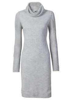 Vestido de tricô gola rolê prata mesclado encomendar agora na loja on-line bonprix.de R$ 139,00 a partir de Vestido de tricô com gola rolê. Com corte reto ...