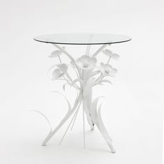 METAL FLOWER BASE TABLE - Occasional Furniture - Bedroom | Zara Home United States of America