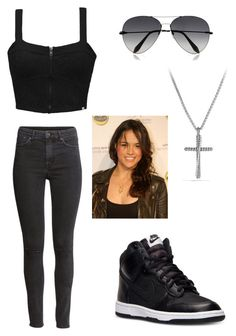 A fashion look from April 2015 featuring rouched top, high waisted ripped jeans and black leather shoes. Browse and shop related looks. Bad Girl Outfits, Punk Outfits, Tomboy Outfits, Tomboy Fashion, Swag Outfits, Mode Outfits, Casual School Outfits, Cute Comfy Outfits, Letty Fast And Furious