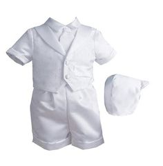 Kp W Boys Short SetProduct with UPC 736576053408 has following features: It is manufactured by Lauren Madison, model number 1436. Item size is . Item color is White This item sells in upscale departme