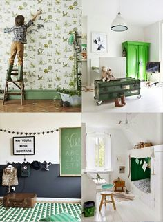 Green Is A Gender Neutral And Restful Colour For Nursery Kids Rooms Childrens Decor These Are Some Of My Favourite Using