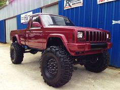 Jeep Commanche 4x4 Truck Lifted Beauty
