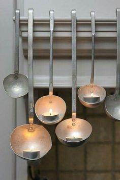 Mestoli e candele