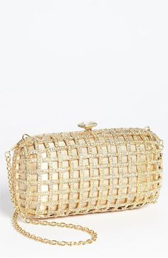 Natasha Couture Caged Clutch available at #Nordstrom