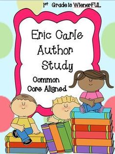 Eric Carle Author Study ~ Mini Unit  Freebie in the Download preview