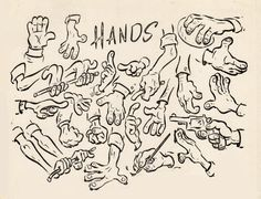 How to Draw Hands Cartooning