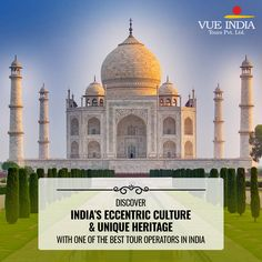 Tour Packages India - Explore India's unique culture with Guided Tour Packages, hand-crafted for you. Book a perfect holiday to India with Vue India Tours. India India, India Tour, Wildlife Of India, Best Holiday Packages, Visit India, Top Destinations, Tour Operator, Vacation Packages, Eccentric