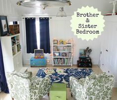 1000 images about remodeling on pinterest sister for Brother and sister shared bedroom ideas