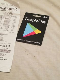 Google Play Store Card $15 PC Android Apps, Tablet and More   Video Games & Consoles, Prepaid Gaming Cards   eBay!