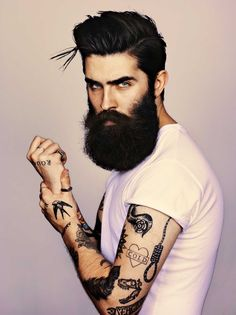 Great portraits! A collection of portraits of glorious beards from around the world