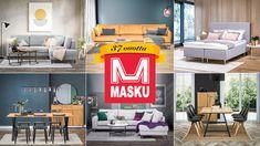 Yhden miehen unelmasta on vuosien varrella kasvanut suuri perheomisteinen yhtiö, jonka juuret ja omistajuus on edelleen sukupolven vaihdoksen myötä Sukarin perheellä. Suomalaisen yrittäjyyden lisäksi Maskun kalustetalon myymistä huonekaluista yli 50% on kotimaisten yritysten tuottamia. 🇫🇮 Onnea 37-vuotias Masku! 🎉 Juhlien kunniaksi talo tottakai täynnä toinen toistaan hurjempia tarjouksia verkkokaupassa ja myymälöissä! 🤩 Loft, Bed, Furniture, Home Decor, Decoration Home, Stream Bed, Room Decor, Lofts, Home Furnishings