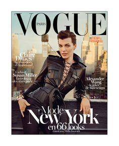 Vogue Paris - February 2013 : Milla Jovovich
