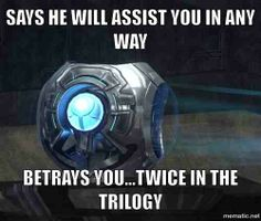 Almost as bad as Wheatley's betrayal in Portal 2. Almost.