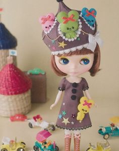 Japanese Doll Clothes Pattern eBook (with actual size patterns)
