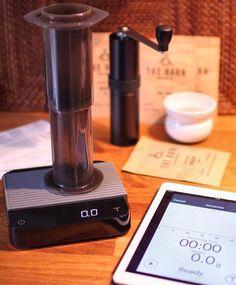 Monday's Ft. Acaia Pearl from @alternativebrewing    TAG your coffee friend!    Shop NOW  @originalaeropress Link in Bio  by @lichterkind by originalaeropress