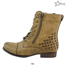 Nala Studded Ankle Boots - Assorted Colors