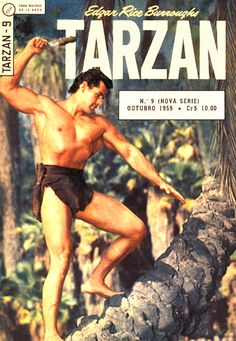 TARZAN 09 Vintage Comic Books, Vintage Comics, Tarzan Movie, 70s Tv Shows, Fantasy Comics, Hero Movie, Old Comics, Classic Comics, History Photos