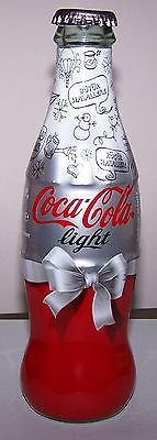 PLEASE CHECK MY OTHER COCA COLA BOARDS, ADS, CANS, VEHICLES AND EVERYTHING ELSE. THANKS FOR LOOKING2011-Coca-Cola-Light-New-Year-Bottle-From-Turkey-Rare