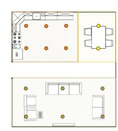 How to layout recessed lighting in 4 easy steps pinterest how to layout recessed lighting in 4 easy steps pinterest pegasus infographic and lights aloadofball Image collections