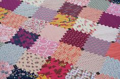 Clever Courthouse Steps quilt top