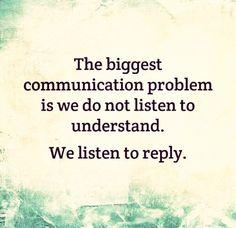 Talk abt this often