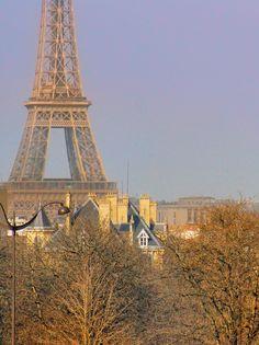 Winter in Paris is beautiful! #ParisinWinter #Paris #France #VisitParis #EiffelTower #TourEiffel