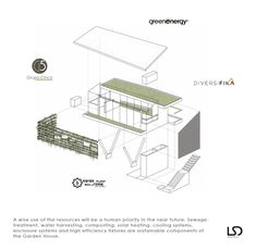 Galería de casa jardín / LSD Architects - 19 Home And Garden, How To Plan, Gallery, House, Diagram, Costa, Gardens, Roof Rack, Home
