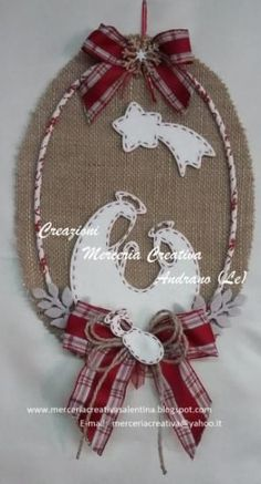 What do you think Christmas Nativity Scene, Christmas And New Year, Burlap, Rustic Christmas Ornamen Christmas Sewing, Christmas Fabric, Felt Christmas, Rustic Christmas, Christmas Holidays, Christmas Wreaths, Christmas Decorations, Baby First Christmas Ornament, Christmas Nativity Scene